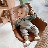 男童吊帶褲春秋嬰兒寶寶可愛洋氣秋款韓版男一歲小童純棉兒童褲子 【夏日新品】