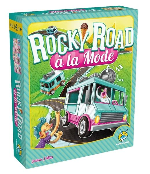 【KANGA GAMES】叭噗人生 Rocky Road a la Mode 家庭益智派對桌上遊戲
