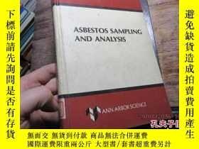二手書博民逛書店asbestos罕見sampling and analysis