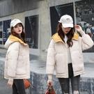 羽絨外套 棉衣女短款韓版寬鬆羽絨棉服休閒學生小個子外套冬季大碼棉襖 - 歐美韓
