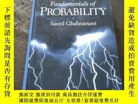 二手書博民逛書店Fundamentals罕見of Probability Sec