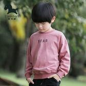 男童套頭衛衣春裝長袖上衣小孩韓版
