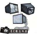 【EC數位】JJC FX-C580 閃光燈增距器 適用CANON 580EX 580EX II 專用 閃燈 柔光罩 全新