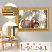 【羅蘭絲】凡爾賽玫瑰實木相框6x8吋(3色)照片框相片框立框畫框-1401