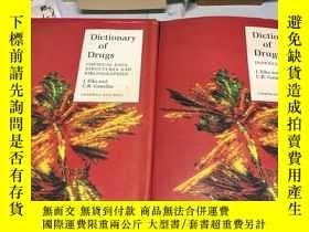 二手書博民逛書店英文原版:Dictionary罕見of Drugs ELKS a