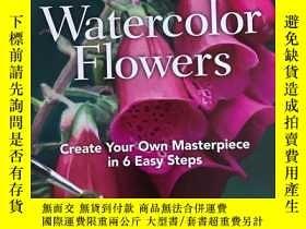 二手書博民逛書店how罕見to paint watercolor flowers