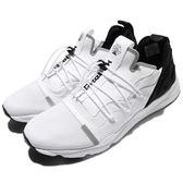 Reebok 休閒鞋 Furylite X 白 黑 襪套式 抽繩鞋帶設計 反光 運動鞋 男鞋【PUMP306】 BS6190