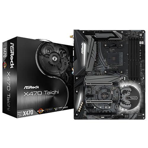 ASROCK 華擎 X470 Taichi 太極 AMD 主機板