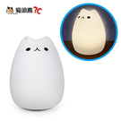【貓頭鷹3C】療癒系 USB充電式 喵咪造型彩色夜燈[USB-61]