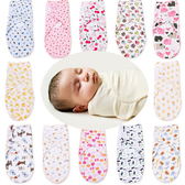 滿版卡通包巾 棉質 懶人嬰兒抱巾  棉質可調 HS10710 好娃娃