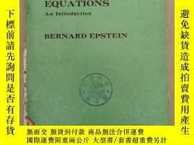 二手書博民逛書店partial罕見differential equations(P903)Y173412
