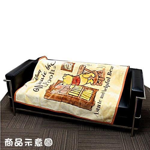 DISNEY 小熊維尼兒童用單人毛毯M(書櫃)★funbox★丸真_RS65846