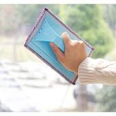《J 精選》居家清潔好幫手 手持式多功能抹布/擦窗器/窗溝擦拭器