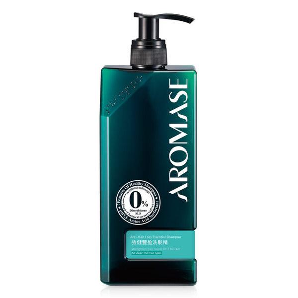 艾瑪絲AROMASE 強健豐盈洗髮精-高階版400mL(綠盒版) 《宏泰健康生活網》