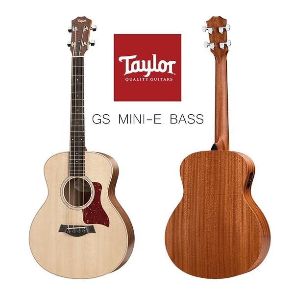 小叮噹的店-Taylor GS mini-e Bass 電木吉他 旅行吉他 面單吉他 電箱吉他