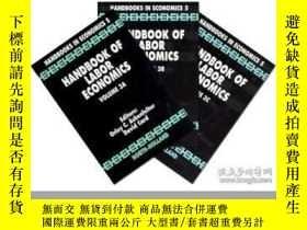 二手書博民逛書店Handbook罕見Of Labor EconomicsY256260 Ashenfelter, Orley