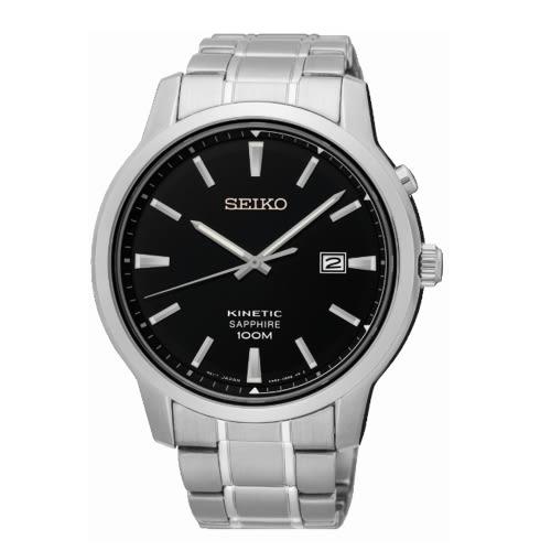 SEIKO CS優雅紳士人動電能腕錶/黑/5M82-0AX0D/SKA741P1