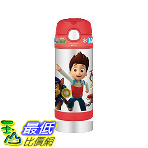 [107美國直購] 保溫杯 Thermos 12 Ounce Funtainer Bottle, Paw Patrol Color: Paw Patrol Model:F4015PP6