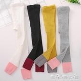 女童打底褲夏季外穿薄款洋氣襪子兒童純棉中厚夏春款連褲襪 雙十二全館免運