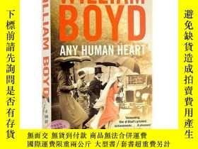 二手書博民逛書店赤之子心罕見人心 英文原版 Any Human Heart by William BoydY335736 Wi