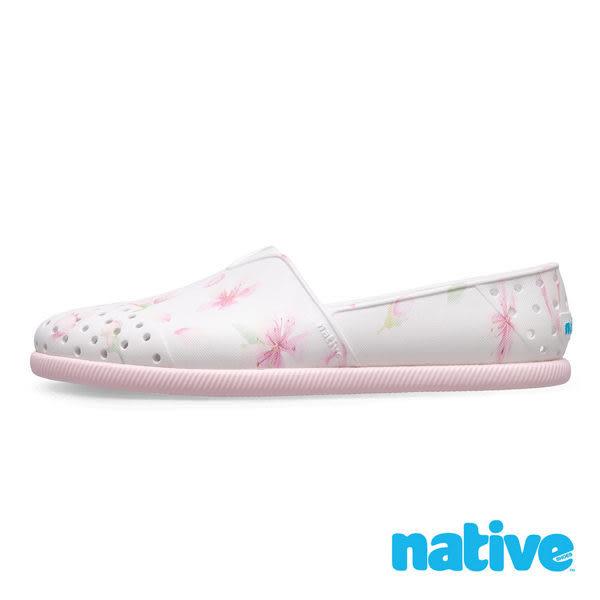 Native 男女款粉白色情侶休閒鞋-NO.11101801-8812