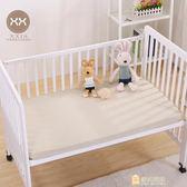 新年禮物-有機彩棉嬰兒隔尿床笠床罩新生兒寶寶全棉床墊套兒童床品床單WY