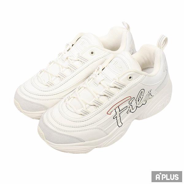 FILA 女 Ray Run Script 休閒鞋 - 4C351U177