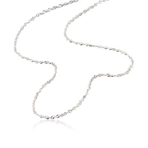 【LECRIN翠屋珠寶】義大利14K金項鍊-新式水波鍊1.3尺