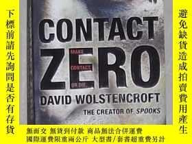 二手書博民逛書店英文原版罕見Contact Zero by David Wols
