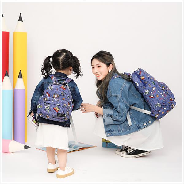 媽媽包-迪士尼系列俏皮塗鴉玩具總動員款輕量寶貝多功能後背包-單1款-A12121782-天藍小舖