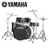 小叮噹的店-全新 YAMAHA RYDEEN 黑色爵士鼓(5件套組) RDP2F5 加附鼓毯 鼓椅  公司貨