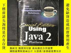 二手書博民逛書店Using罕見Java2 piatformY270271