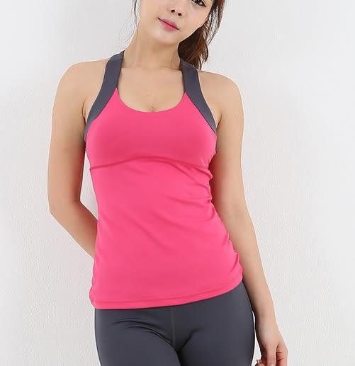 韓國健身瑜伽服上衣短袖女春夏健身房運動服跑步訓練速乾衣   - jrh0028