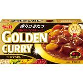 【美佐子MISAKO】日韓食材系列 -S&B Golden Curry ゴールデンカレー 咖哩(黑)-辛口 198g