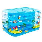 尾牙年貨 嬰兒游泳池嬰幼兒童充氣戲水池寶寶洗澡桶