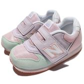 New Balance 慢跑鞋 996 NB 粉紅 綠 魔鬼氈 休閒鞋 童鞋 小童鞋【PUMP306】 FS996P1IW