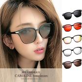 《Caroline》今年度最新網紅款潮流行時尚百搭抗UV太陽眼鏡 71461