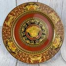 BRAND楓月 VERSACE 凡賽斯 紅色 巴洛克 梅杜莎 大圓盤 瓷盤