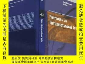 二手書博民逛書店Fairness罕見in International Trade