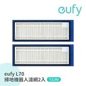 eufy L70 掃地機器人E12可水洗濾網2入T2922031