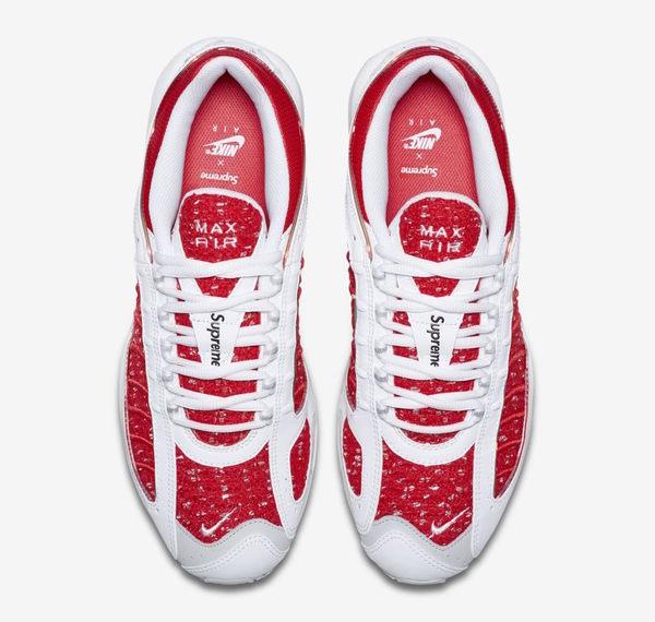 [TellCathy 7]Supreme X Nike Air Max Tailwind 4 AT3854-100 聯名 白紅 男