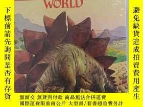 二手書博民逛書店the罕見prehistoric world (史前世界) 24