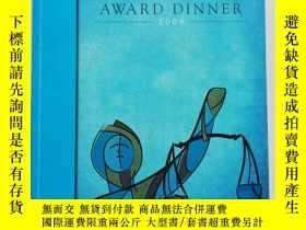 二手書博民逛書店william罕見o .douglas award dinner