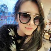 現貨-新款透明時尚太陽鏡女復古彩膜潮流款墨鏡百搭太陽眼鏡177