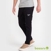 輕鬆長褲02黑-bossini男裝