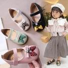 女童涼鞋 兒童甜美草莓單鞋春寶寶軟底學步鞋可愛豆豆鞋1-3歲5女童皮鞋 星河光年