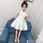 連身裙 童裝女童夏裝連身裙兒童公主裙韓版寶寶裙子 寶貝計畫