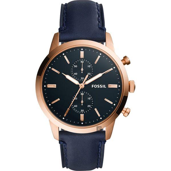 FOSSIL Townsman 城區計時手錶-藍/44mm FS5436