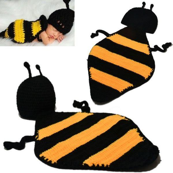*甜蜜蜜親子童裝*可愛《手工小蜜蜂》嬰幼兒造型帽