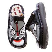 MODO.包拖兩用-臉譜款-THE ONE.手工鞋(全牛皮)-K12507 黑